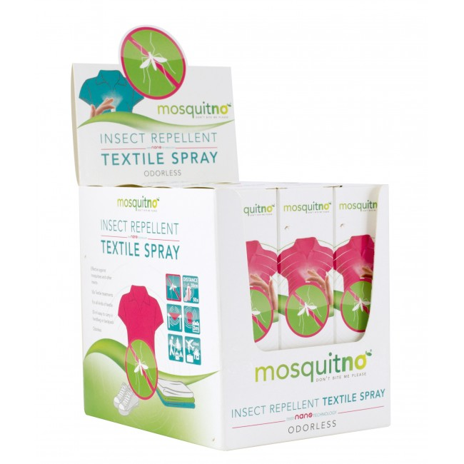 Insect Repellent Textile Spray - 12 pcs display
