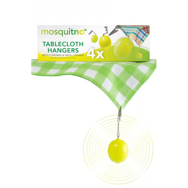 Box 12-Pack Tablecloth Hanger - Citronella